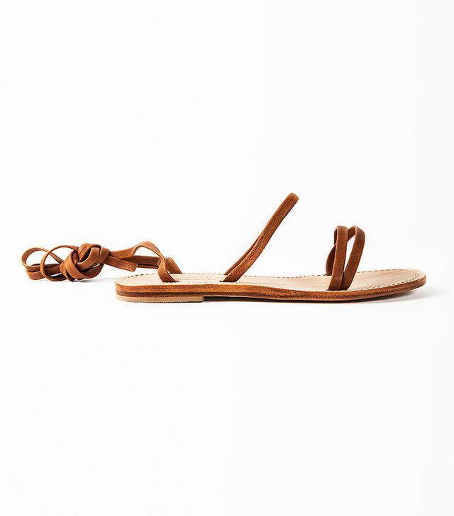 Cornetti Caruso Wrap Up Sandal