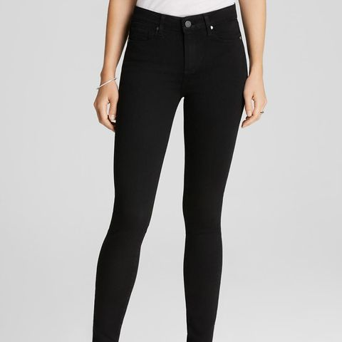 Transcend Hoxton High Rise Ultra Skinny in Black Shadow