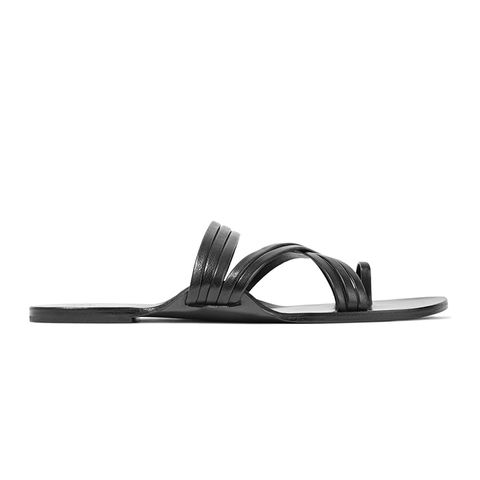 Cannes Leather Sandals