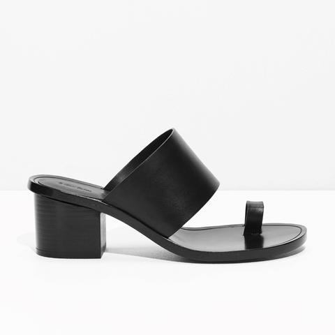 Toe Slide Sandal