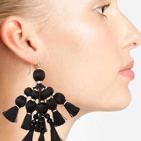 Pretty Poms Tassel Earrings