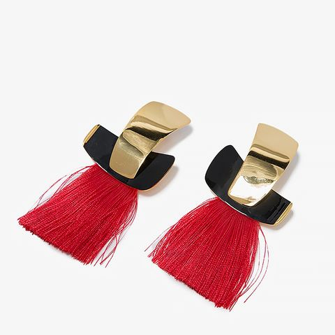 Totem Tassel Earrings