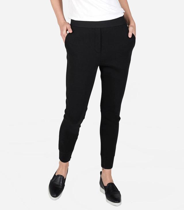 Women's Street Fleece Pant by Everlane in Black, Size XS