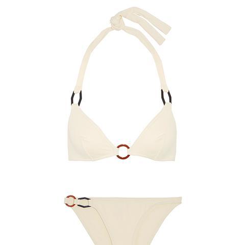 Perspective Halterneck Bikini Top