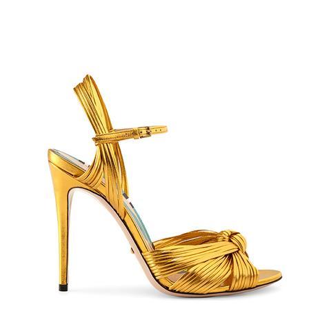 Metallic Gold Sandal