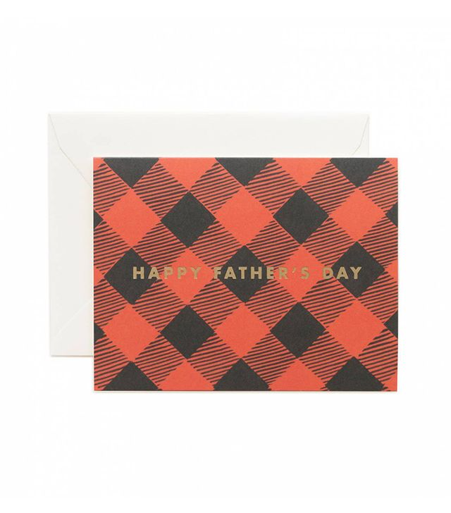 Rifle Paper Co. Father's Day Plaid
