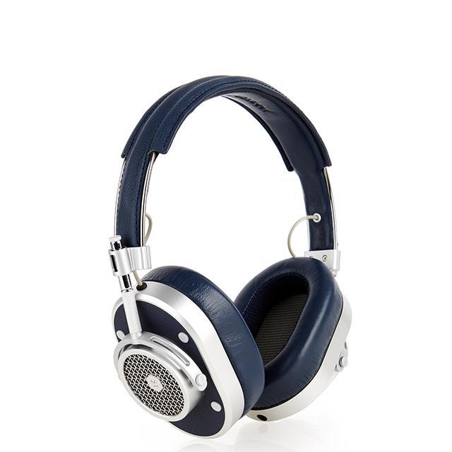 MH40 leather on-ear headphones