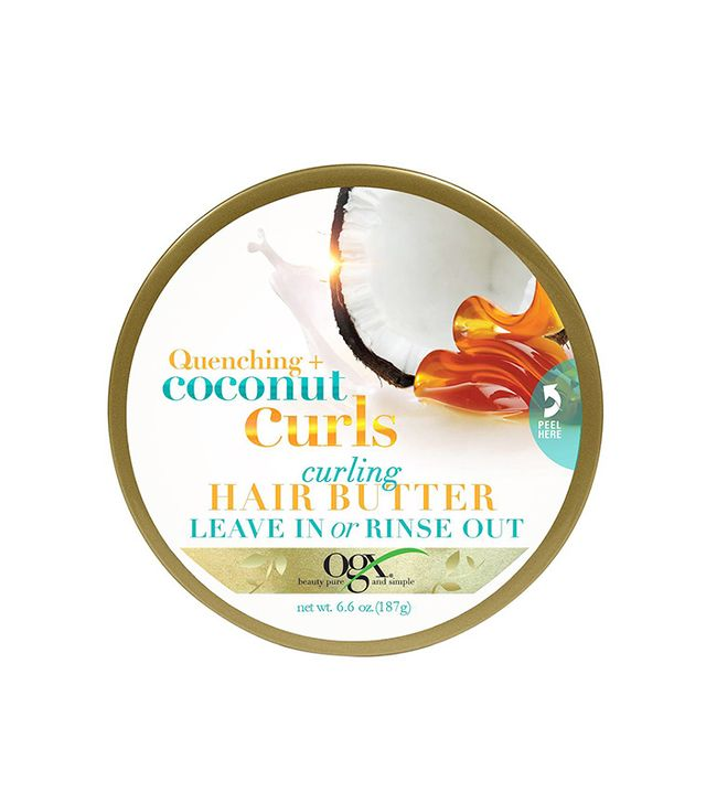 ogx coconut hair butter - leave in conditioner for curly hair