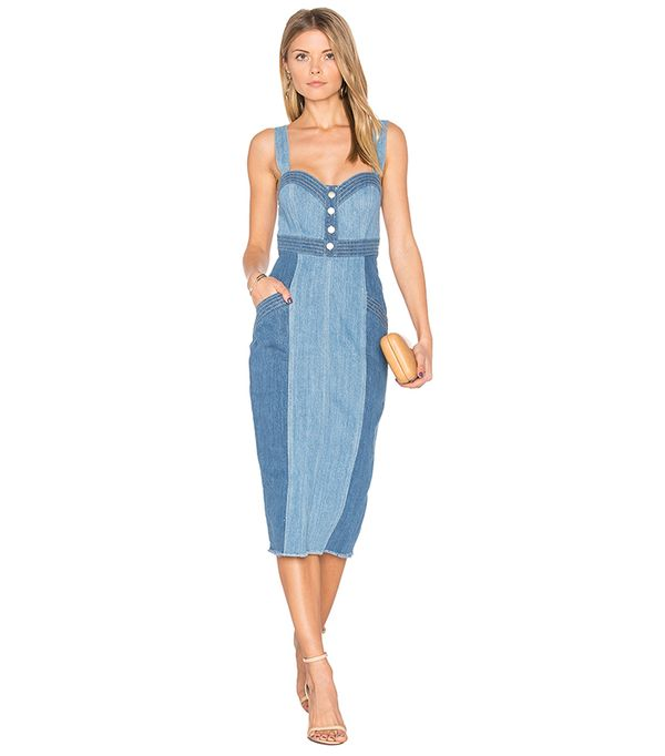 long denim dresses
