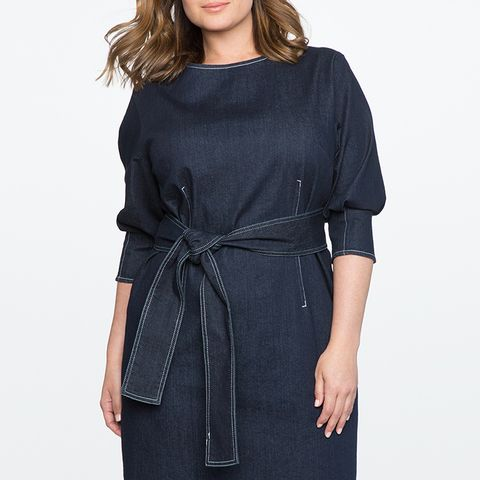 Sleeve Denim Dress