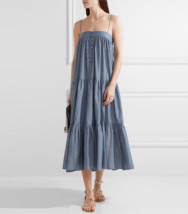 long denim dresses