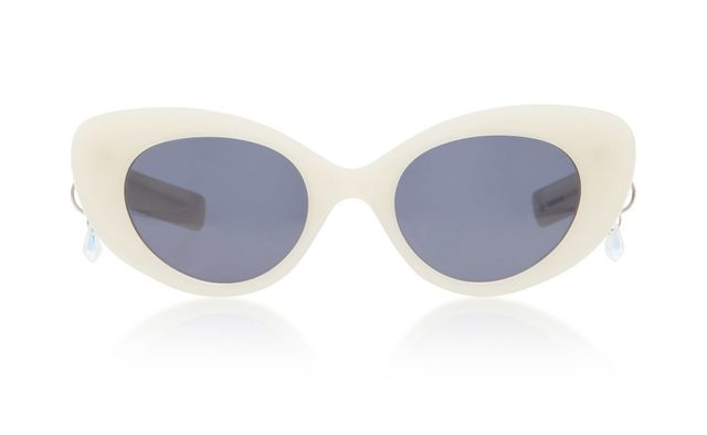 Pared Eyewear Poms & Pared Acetate Cat-Eye Sunglasses