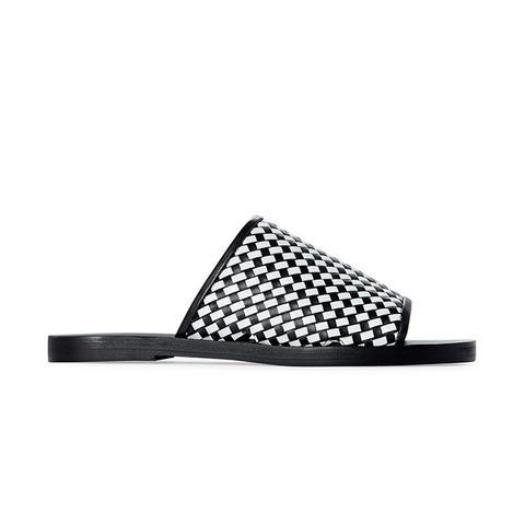 Pure Woven Slip On Sandal
