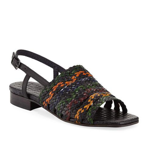 Goldie Woven Flat Sandal