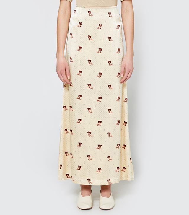 Donnelly Satin Skirt