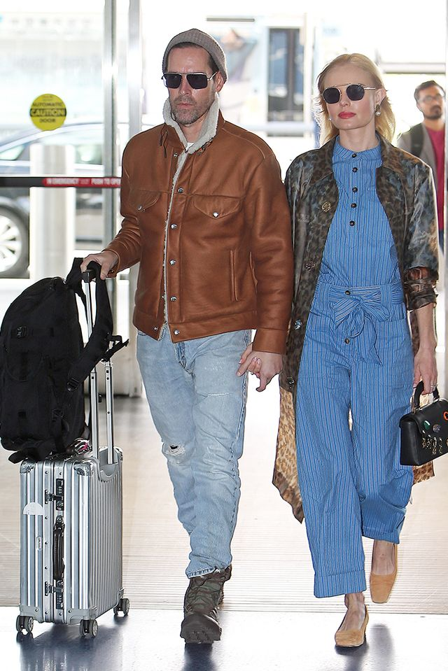 airport style Kate Bosworth