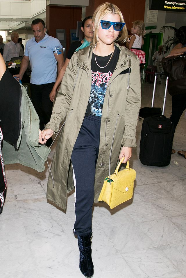 airport style sofia richie