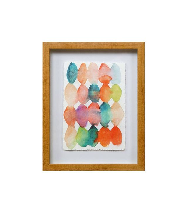 Target Framed Watercolor Beads Print