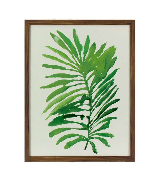Target Framed Watercolor Palm Leaf