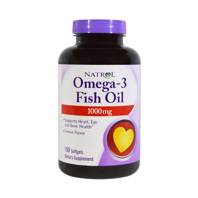 Natrol Omega-3 1000mg Fish Oil Softgels