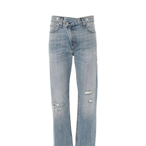Wicked Grommet Straight Jeans