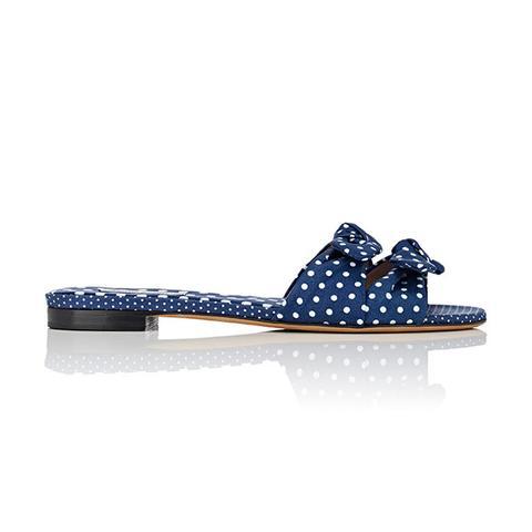 Women's Cleo Polka Twill Slide Sandals