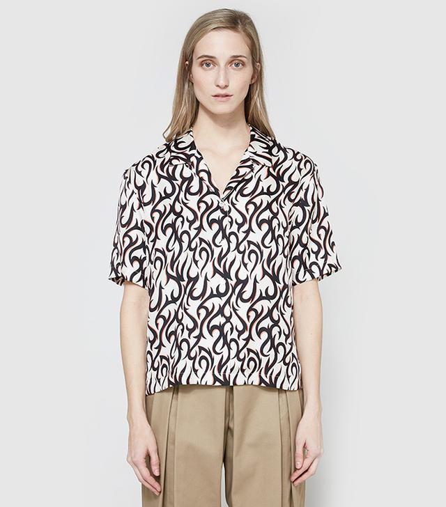 Hawaiian Silk Shirt
