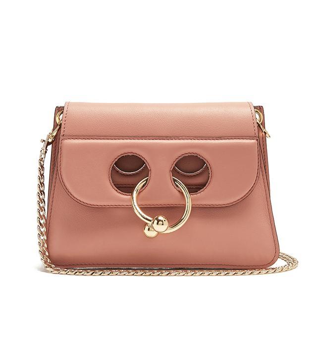 Pierce mini leather cross-body bag