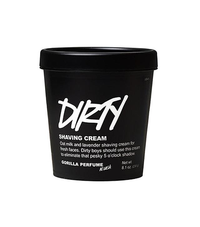 Lush Dirty Shaving Cream