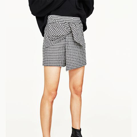 Mini Checked Skort