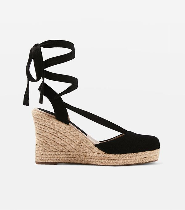 WAVES Espadrille Wedge Heels Sandals