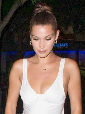 Bella Hadid, Nice 2-Piece Sneaker Outfit. Mind If We Copy?