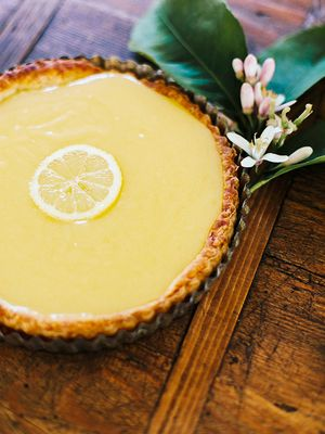 This Delicious Lemon Curd Tart Recipe Tastes Just Like Summer