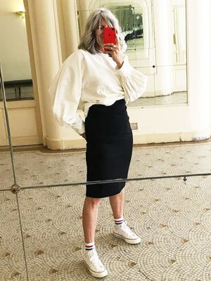 This 55-Year-Old French Woman Has the Most Stylish Instagram
