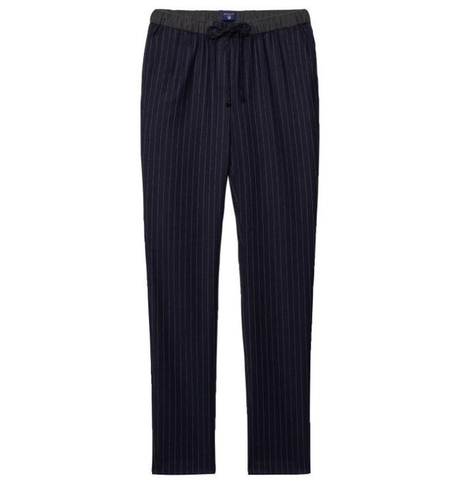 Gant Straight Fit Pinstriped Recreation Trousers