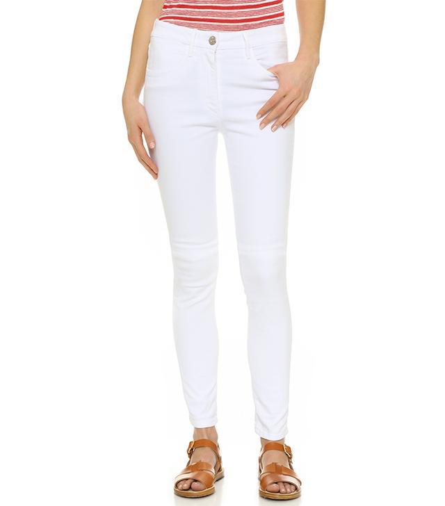 W3 High Rise Channel Seam Skinny Jeans