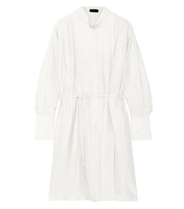 Best shirt dresses: Joseph Victor Washed-silk Dress