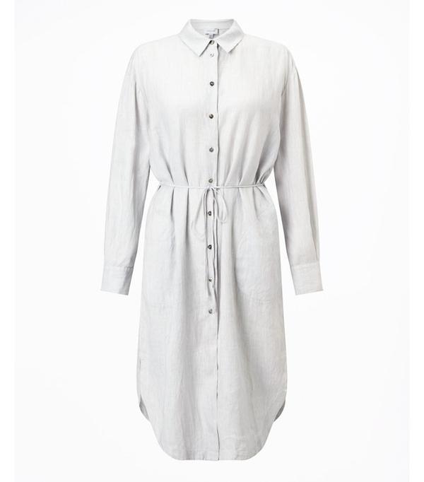 Best shirt dresses: Jigsaw linen dress