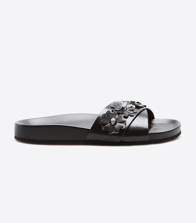 Zara Home Studded Floral Sandals