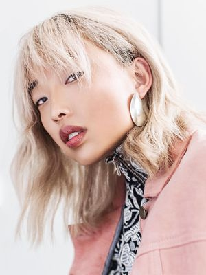 9 Hairstyles With Bangs Inspired by Our Favorite Cool Girls