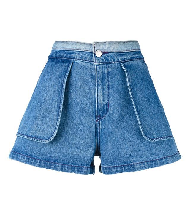Inside Out Denim Shorts