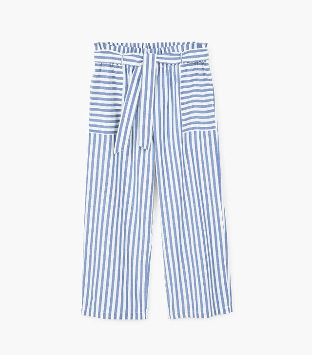 Striped Palazzo Trousers