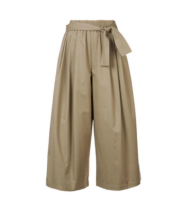 cropped palazzo pants