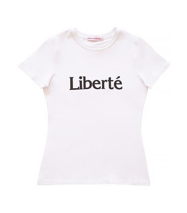 L'Ecole des Femmes Liberté Tee