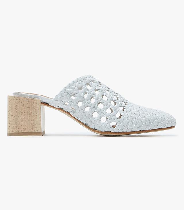 Ines Heel in Bianco