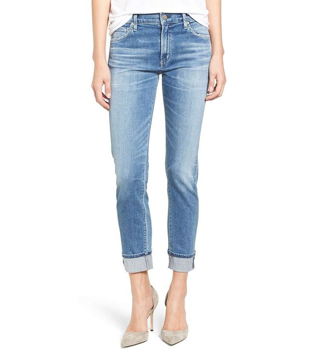 Women's Citizens Of Humanity Jazmin Crop Straight Leg Jeans