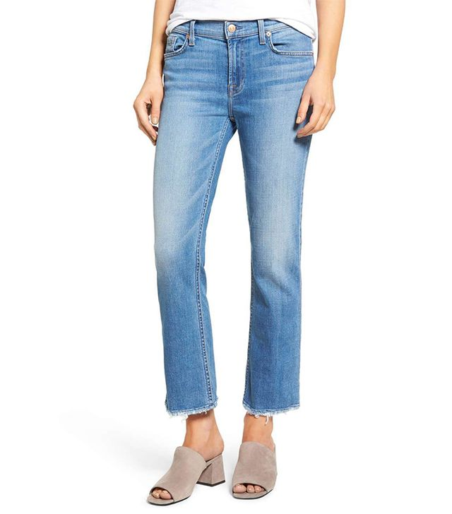 Women's 7 For All Mankind Crop Bootcut Jeans
