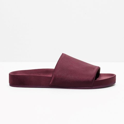 Satin Hotel Slippers