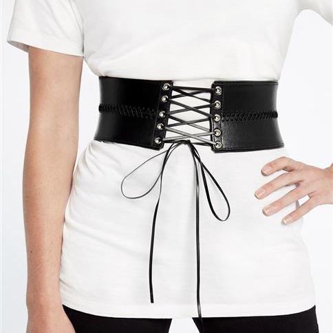 Bardot Lace Corset Waist Belt