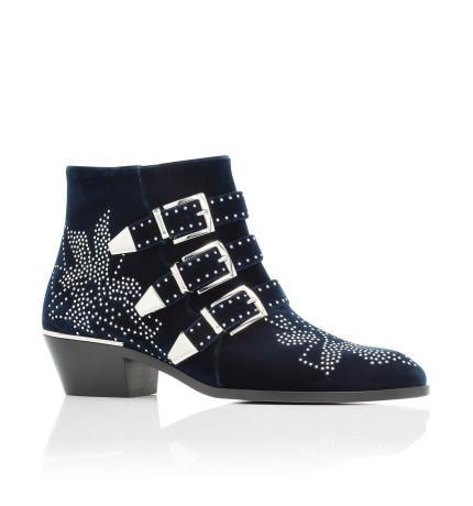 Chloé Sussana Velvet Boot